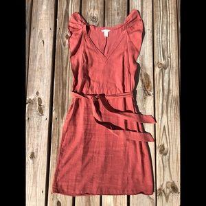 H&M Coral Dress Size 8